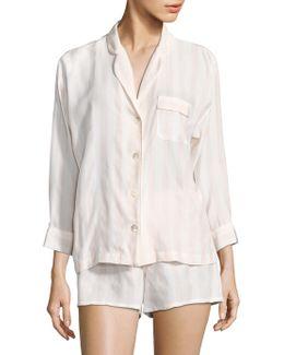 Paloma Silk Pajama Shorts