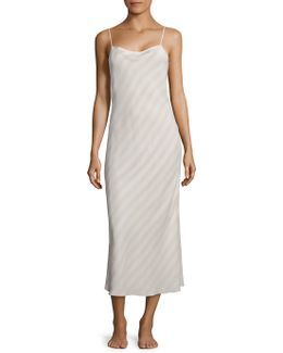 Wharton Silk Slip Dress