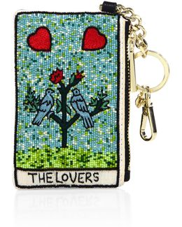 The Lovers Beaded Coin Wallet