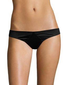 Paneled Jersey Thong