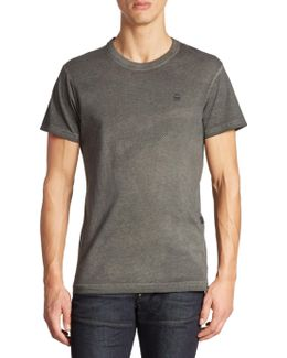 Meon Perforated Organic Cotton Tee