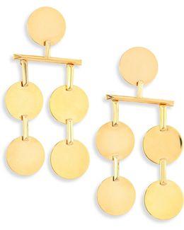 Token Chandelier Earrings