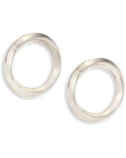 O-ring Stud Earrings