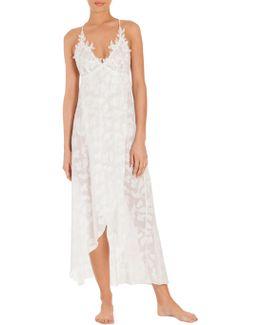 Opal Chiffon Nightgown