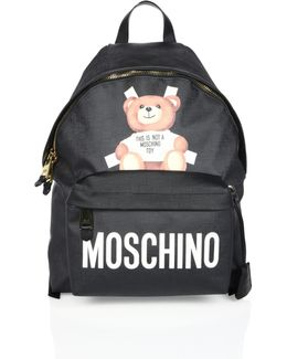 Paper Doll Bear Cutout Backpack