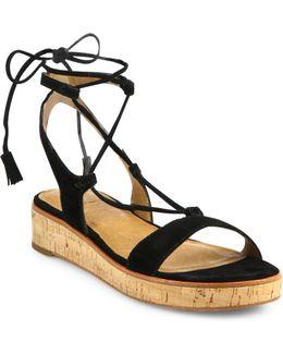 Miranda Suede Gladiator Sandals