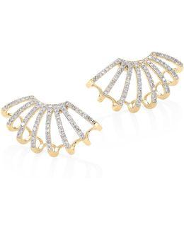 Diamond Double Multi-huggie Earrings