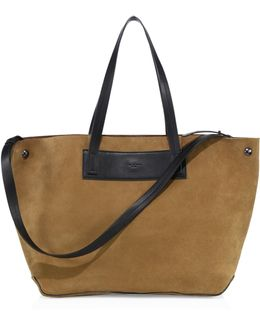 Compass English Suede Everyday Tote