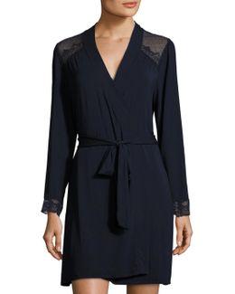 Cecilia Lace Cuff Robe