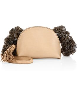 Vachetta Leather Crossbody Pouch