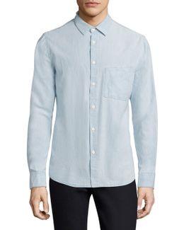 Stanley Denim Button-down Shirt