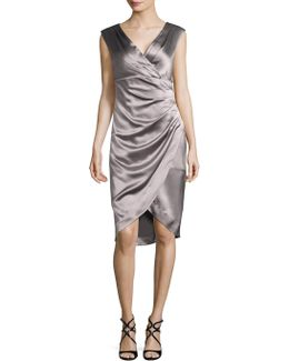Stretch Satin Dress