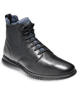 2.zerogrand City Leather Boots