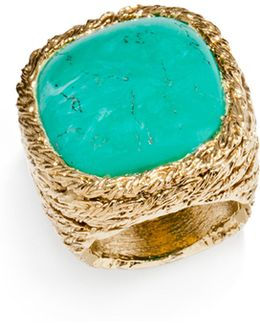 Miki Turquoise Cocktail Ring