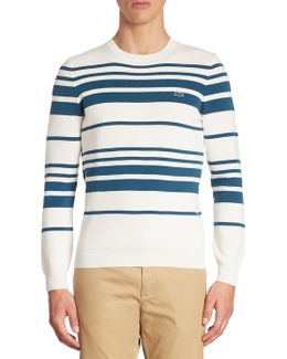 Milano Stitch Striped Sweater