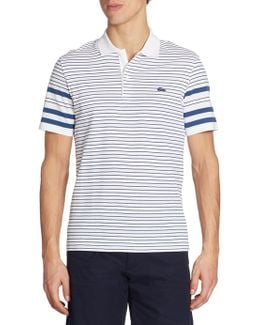 Striped Cotton Polo