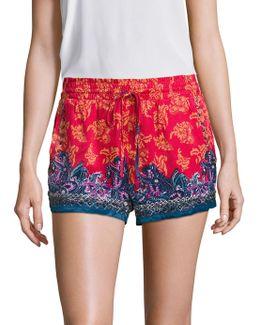 San Paulo Embellished Shorts