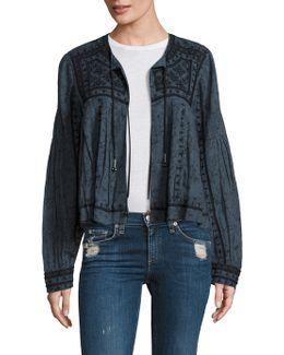 Twilight Mirror Embellished Jacket