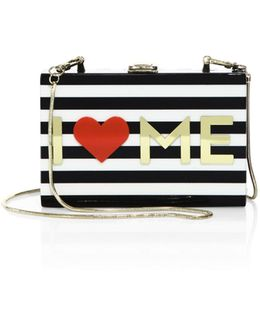 I Heart Me Box Clutch