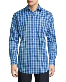 Crown Plaid Button-down Shirt