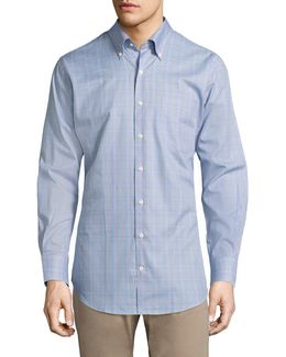 Crown Cape Glen Plaid Button-down Shirt