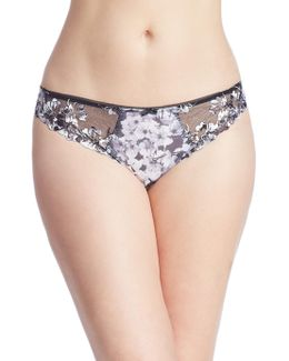 Abby Embroidered Brief Panty