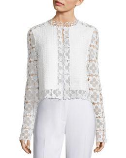 Annabella Tweed & Lace Jacket