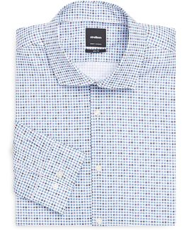 Seam Slim-fit Cotton Dress Shirt