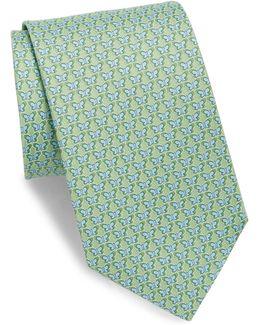Graphic Silk Tie