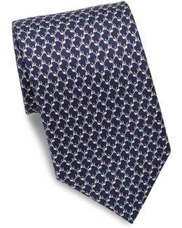 Puppy Silk Necktie