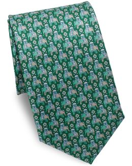 Arabian Elephant Silk Tie