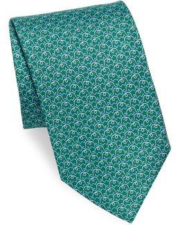Elephant Silk Necktie