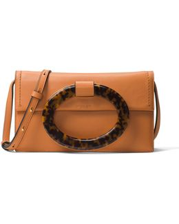 Baxter Ring Leather Clutch