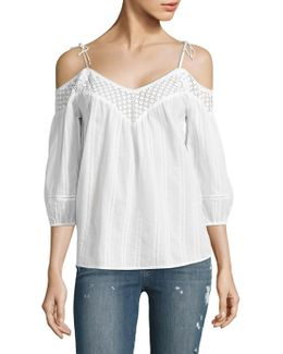 Polly Off-the-shoulder Blouse