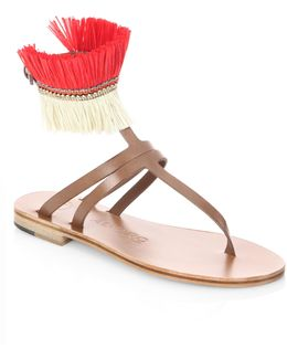 Ariana Leather Sandals
