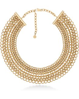 Haute Hardware Goldtone Statement Collar Necklace