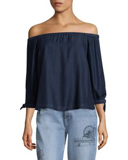 Antonia Off-the-shoulder Blouse