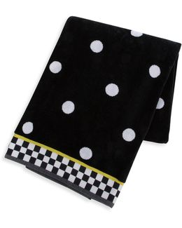 Dotty Polka Dot Beach Towel