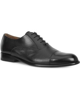 Gino Leather Cap Toe Oxfords