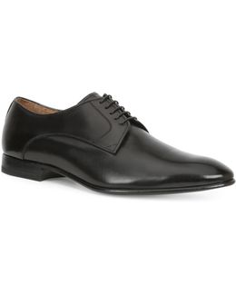 Virotto Burnished Leather Oxfords