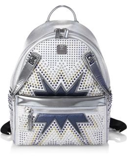 Dual Stark Cyber Studs Small Backpack