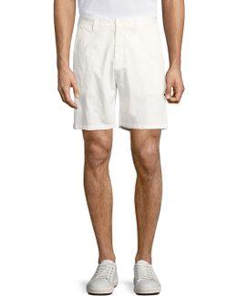 Basic Embroidered Shorts