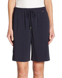 Stretch Drawstring Shorts