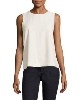 Raw Silk Tank Top