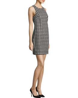 Geometric-print Cosme Dress