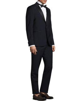 Slim-fit Linen Suit
