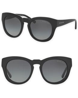 50mm Summer Breeze Round Sunglasses