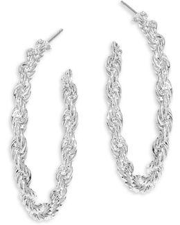 Nora Twisted Hoop Earrings/1.25