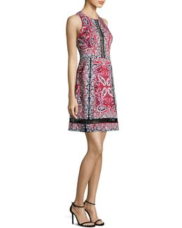 Overboard Paisley-print Dress