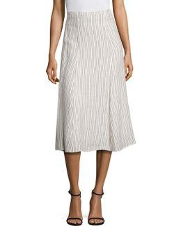 Zimri Striped Skirt